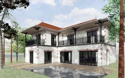 ARCACHON – Projet de villa neuve dans le quartier des Abatilles